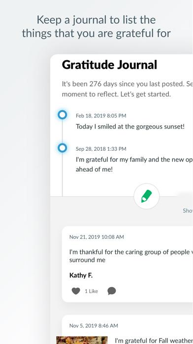 Elemental Life® App Messenger Screen
